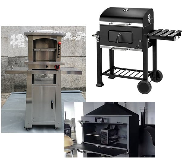 BBQ Grill-Ovendesign