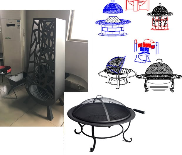 Fire Pit-Ovendesign