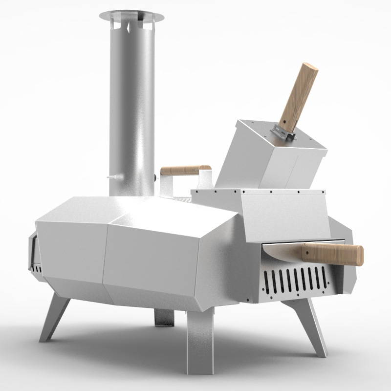 F16 Portable pizza oven-2