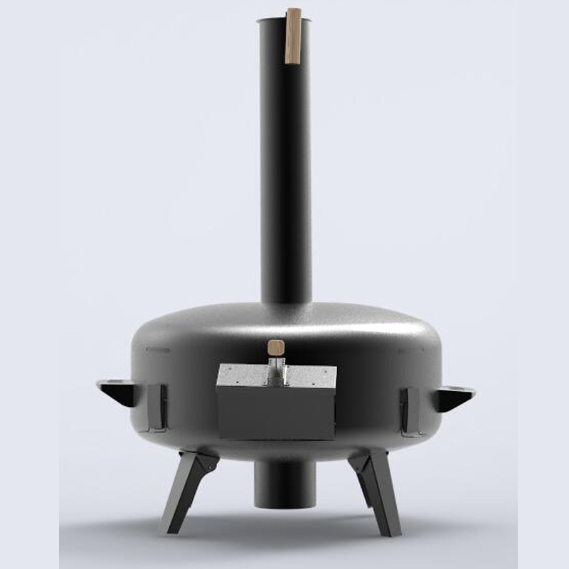 Wood-Fired Outdoor Pizza Oven-3