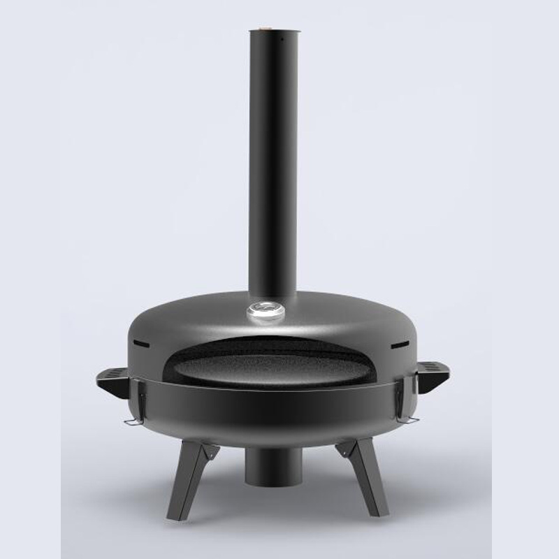 Wood-Fired Outdoor Pizza Oven-4