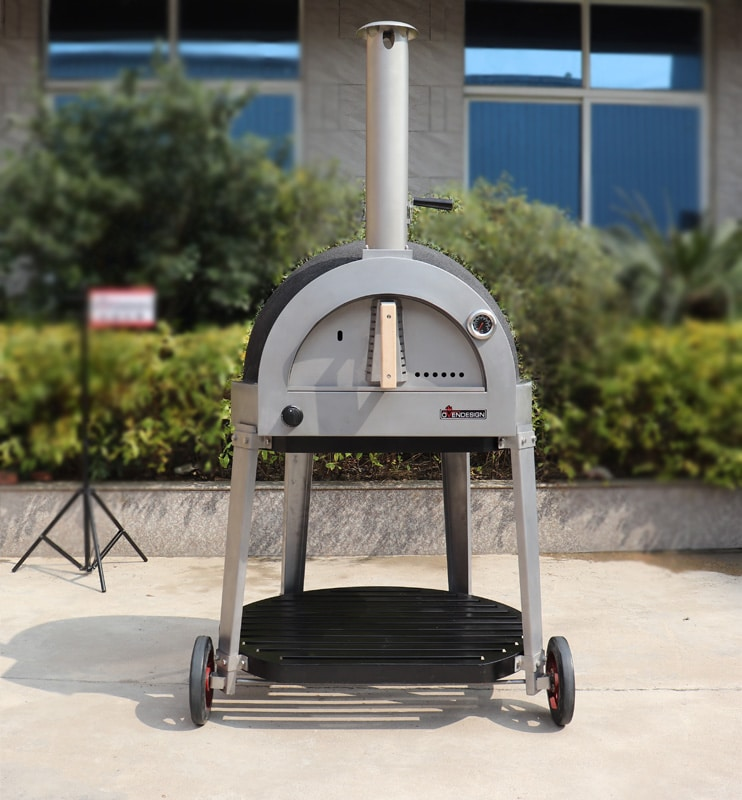 gas clay pizza oven