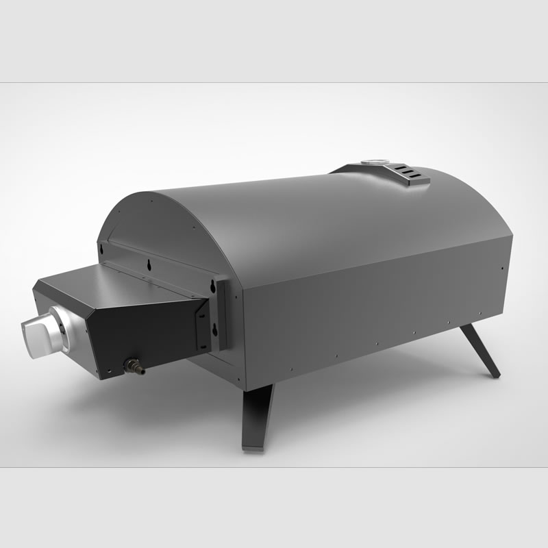 Countertop-Gas-Powered-pizza-oven-ovendesign-QQ-G-P-3-6